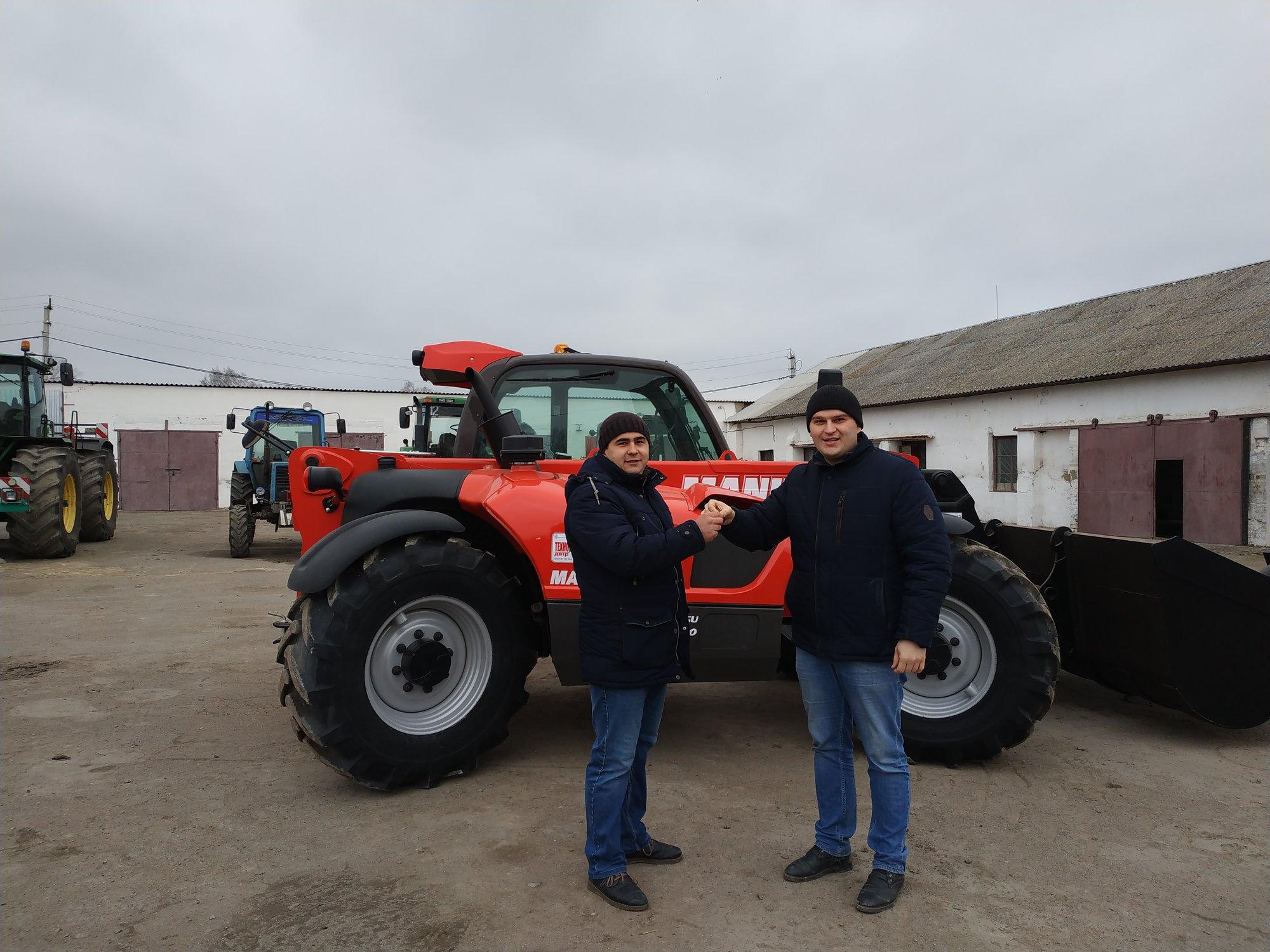 Delivery of three Manitou to the Khmelnytsky region